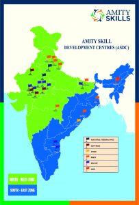 AMITY SKILLS MAP OF INDIA